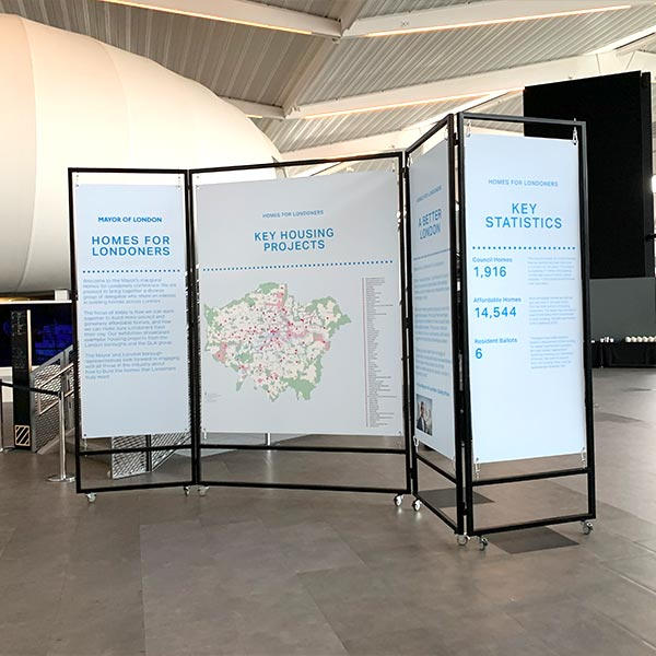Graphical Sign Ramsgate event boards installation and design