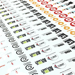 Graphical Sign sticker printing